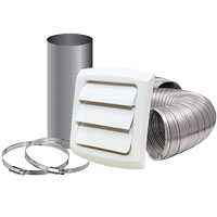 DRYER VENT ALUM SEMI-RIGID KIT