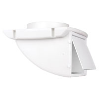 VENT DRYER SOFFIT 4IN