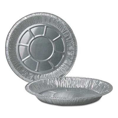 """Aluminum Pie Pans, 10"""" Dia., Deep, 500/Carton"""
