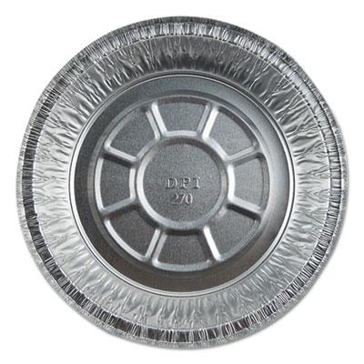 """Aluminum Round Containers, 7"""" Dia., 20 Gauge, 500/Carton"""