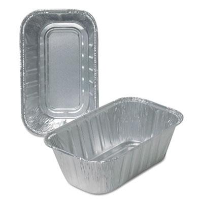 Aluminum Loaf Pans, 1 lb, 500/Carton