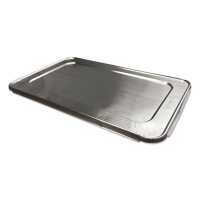 Aluminum Steam Table Lids for Full Size Pan, 50/Carton