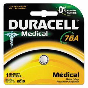 Alkaline Medical Battery, 76/675, 1.5V, 1/EA