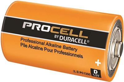 DURACELL� PROCELL� ALKALINE BATTERY, D