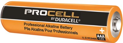 DURACELL PROCELL ALKALINE BATTERY AAA 4 PACK