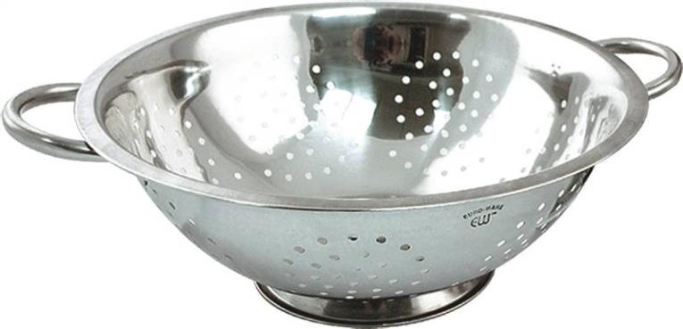 COLANDER STAINLESS STEEL 5 QT