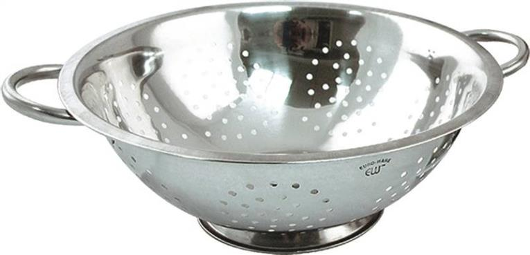 COLANDER STAINLESS STEEL 8 QT