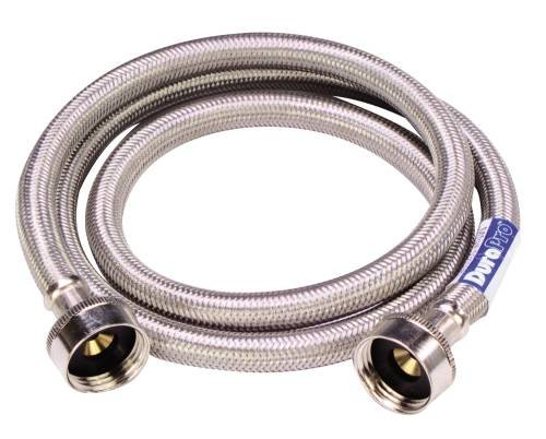 "WASHING MACHINE HOSE 60"" STAINLESS STEEL"