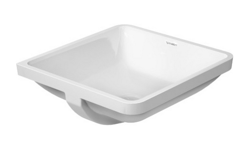 16-7/8 0 Hole Ceramic Undercounter Basin White