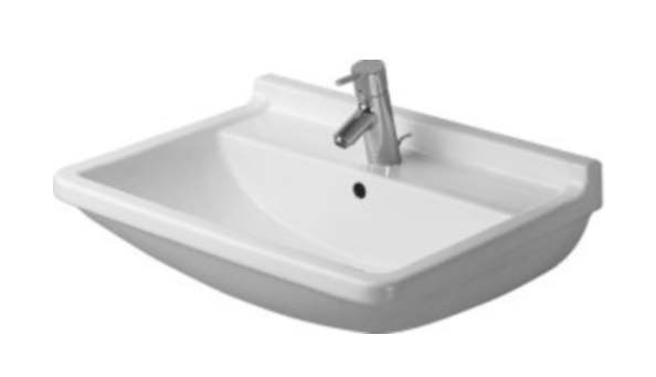 25-1/2 Three Hole Basin *STARCK White