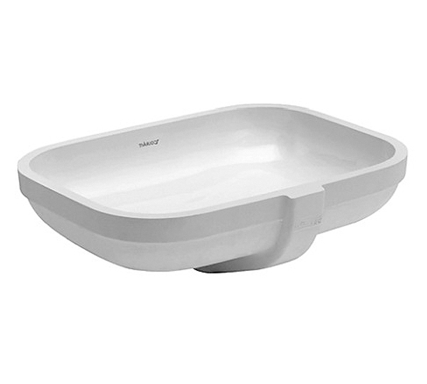 18-7/8 0 Hole Ceramic Undercounter Basin White