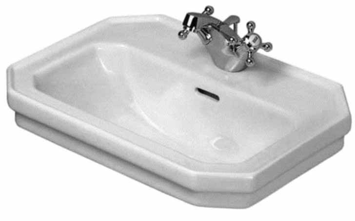 20 X 14 One Hole Lavatory 1930 White