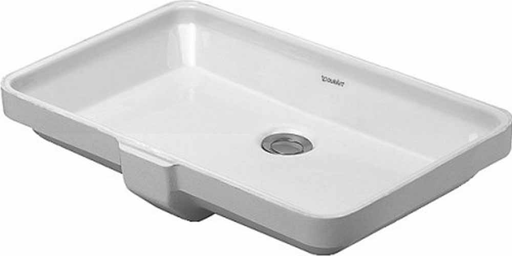 20-5/8 0 Hole Ceramic Undercounter Basin White