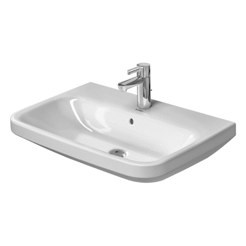 25-5/8 One Hole Ceramic Lavatory *DURAST White