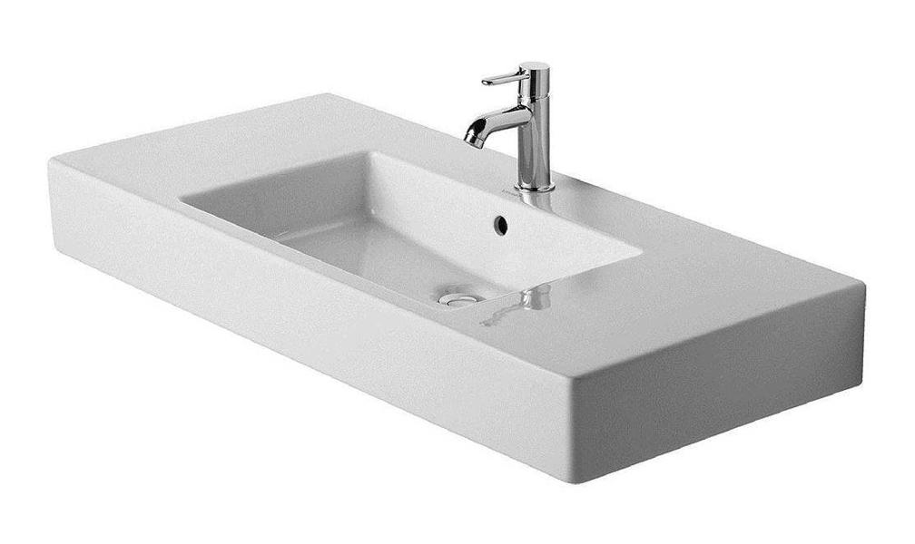 41-1/4 One Hole Ceramic Vanity Basin *VERO White