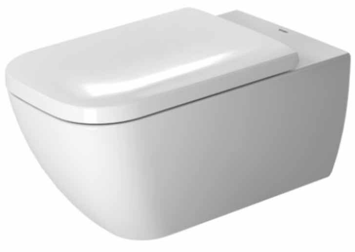 California Energy Commission Registered Wall Mount Closet Elongated Bowl 1 Piece *HAPPY D.2 White