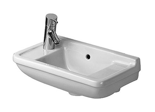 19X10 0 Hole Ceramic HANDRINSE BASIN White