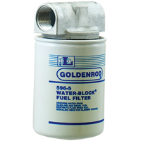 Goldenrod Water Block Spin-On Fuel Filter, 10 u