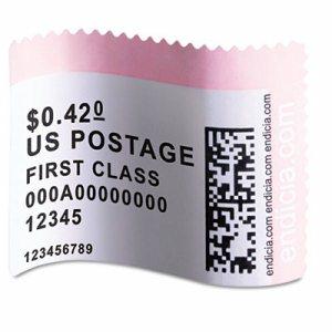 LabelWriter Postage Stamp Labels, 1-5/8 x 1-1/4, White, 200/RL