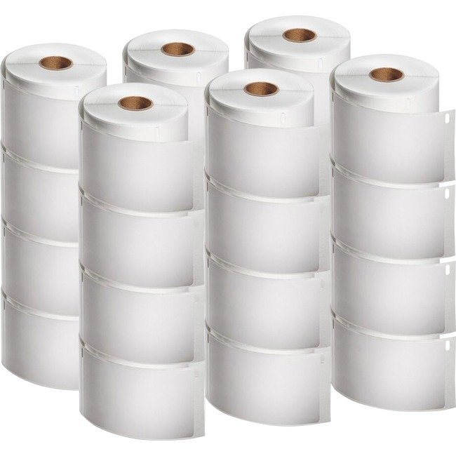 """LW Shipping Labels, 2.31"""" x 4"""", White, 300/Roll, 24 Rolls/Pack"""