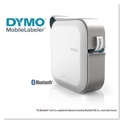 MobileLabeler Bluetooth Label Maker, 4 Lines, 8 3/10w x 4 4/5d x 8 1/10h