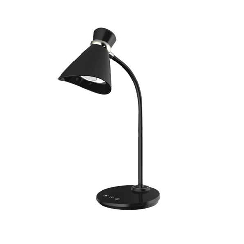 6W Desk Lamp, Black Finish