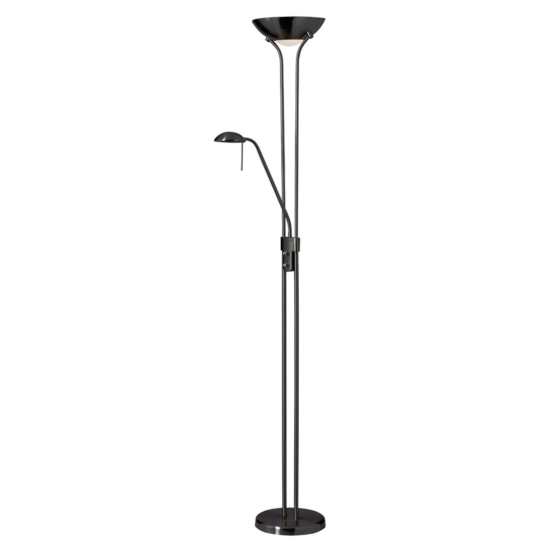 Mother/Son Floor Lamp/Matte Black