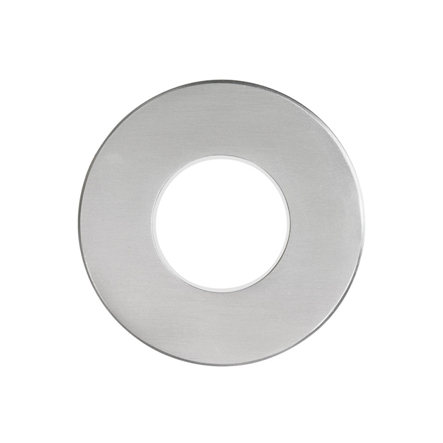 (K)Brushed Alum Round In/Outdoor 3W LED