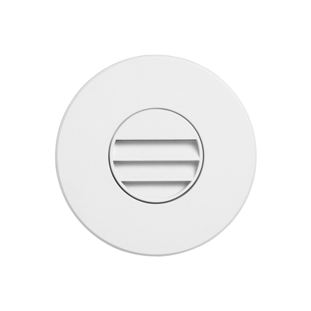 (K)White Round In/Outdoor 3W LED Wall Li