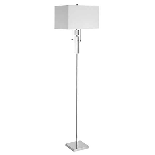 Floor Lamp, Rectangular Shade