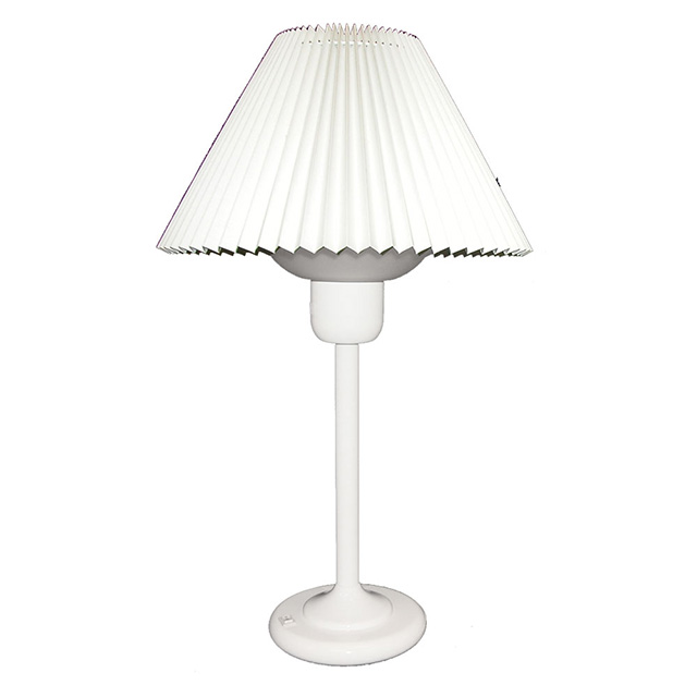 (K)Table Lamp W/200W Bulb - White