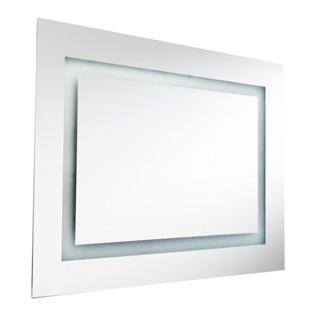 47W Rectangular Mirror, Inside Illumin 36x26 Inch