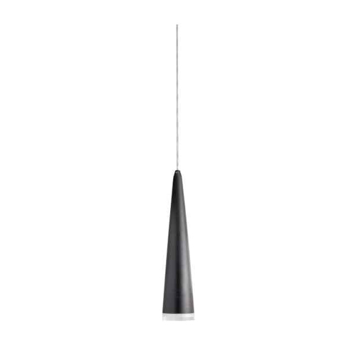 5W Pendant, Matte Black Finish