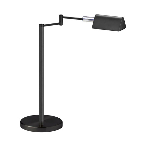 5W LED Swing Arm Lamp, Black Finish