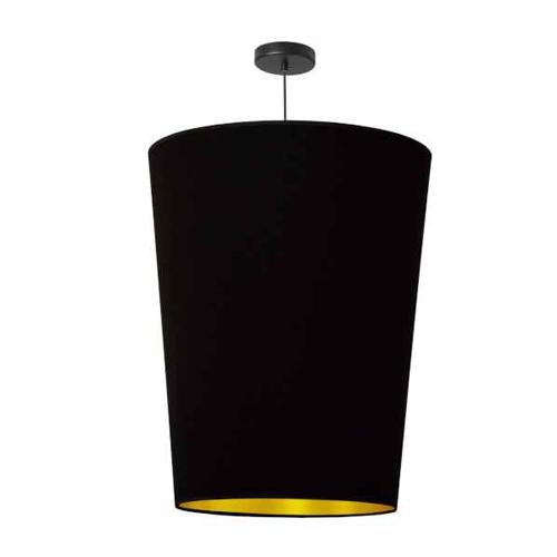 1LT Paisley Pendant Blk/Gld, Large Black