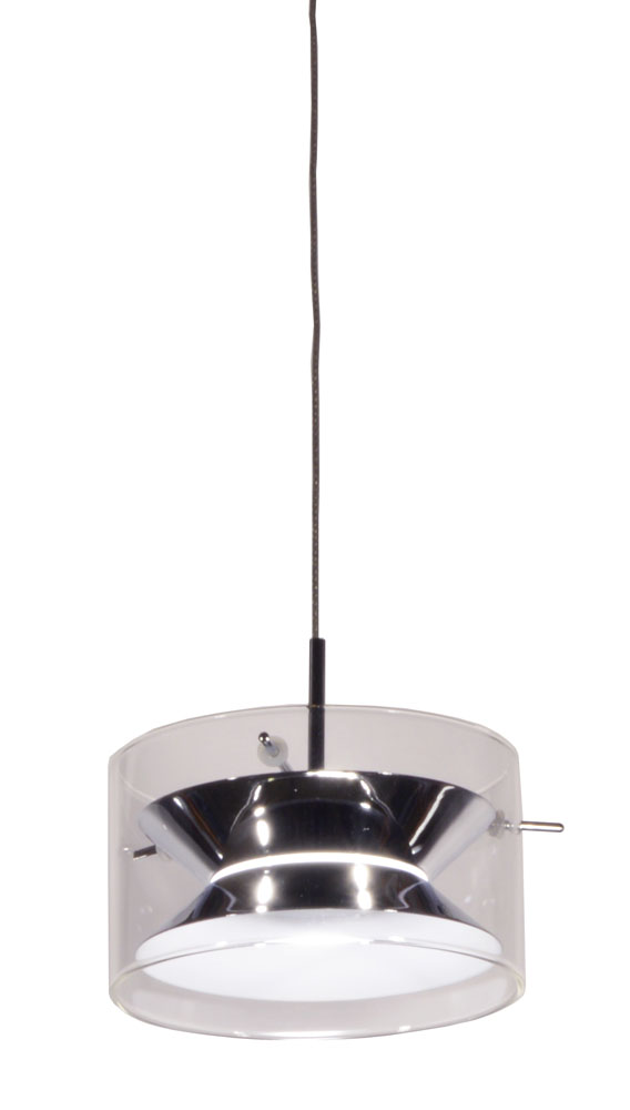 Dainolite Home Indoor Decorative LED Mini Pendant - Polished Chrome