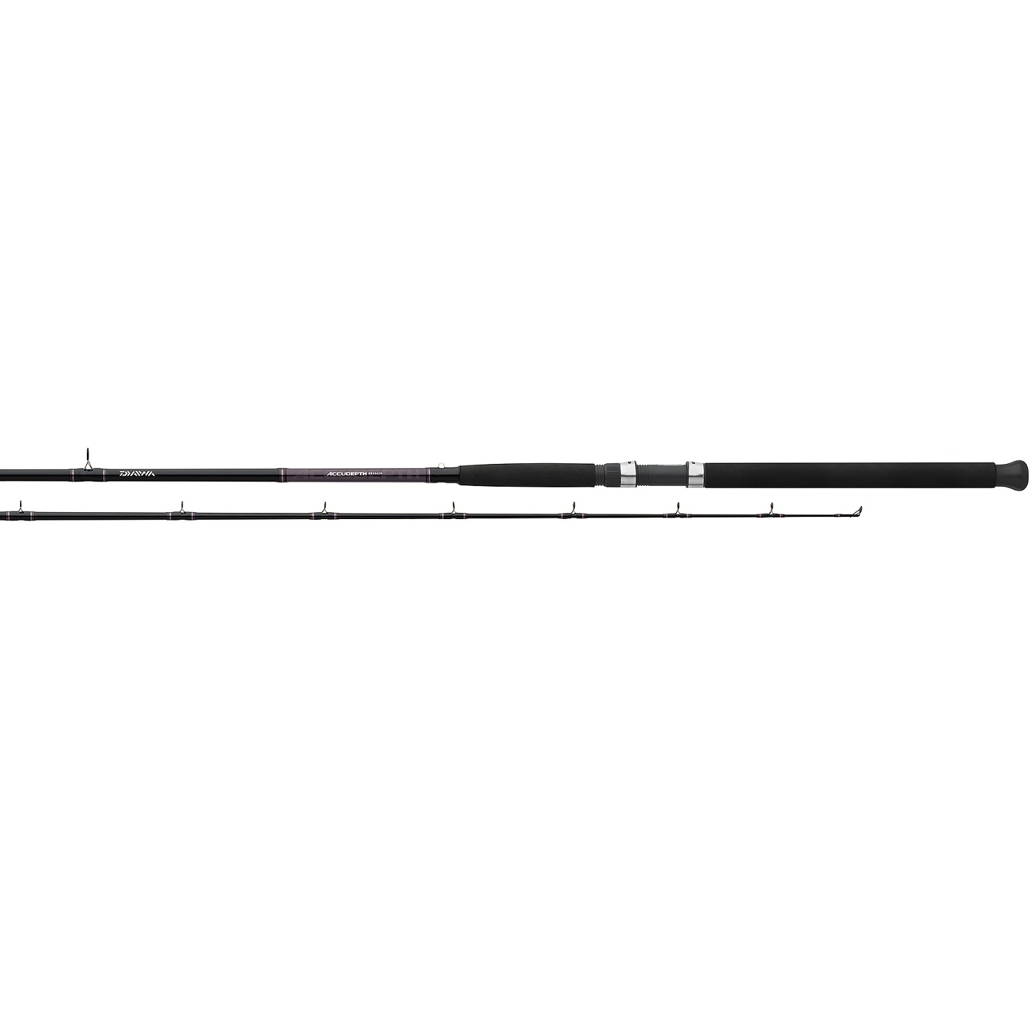 """Accudepth Trolling Rod 10'6"""" Two Piece Heavy Action-Dipsy"""