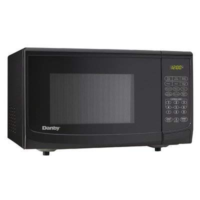 .7 cu. ft., 700 watts Microwave Oven, Black