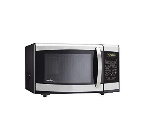 .7 cu. ft., 700 watts Microwave Oven, Black w/ Stainless Steel
