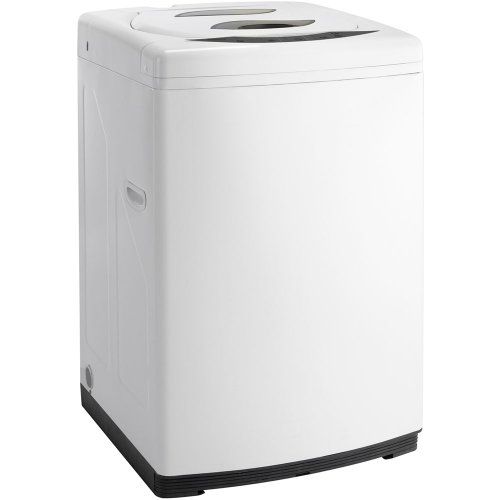 Portable top load washer, white
