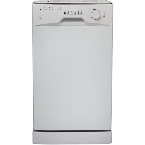 "18"" Built-In Dishwasher, White"