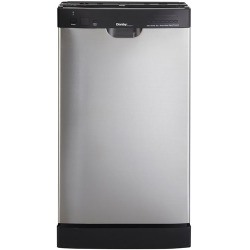 "18"" Built-In Dishwasher, Stainless Steel"