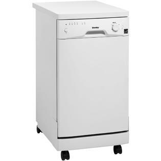 "18"" Portable Dishwasher, White"