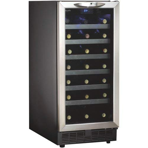 34 Bottle, Built-In Wine Cooler