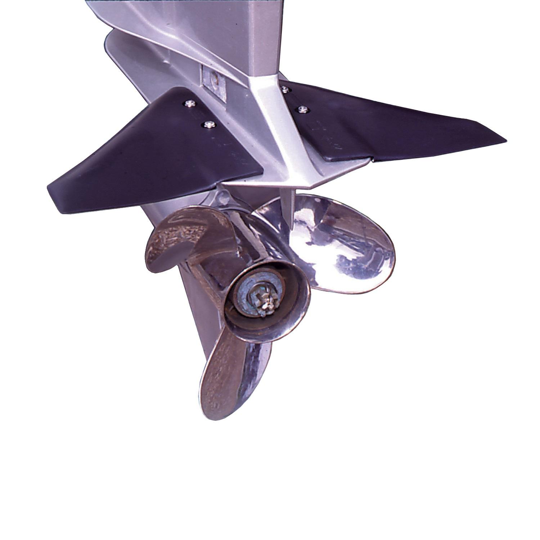 Davis Doel-Fin Outboard/Outdrive Stabilizer - Black
