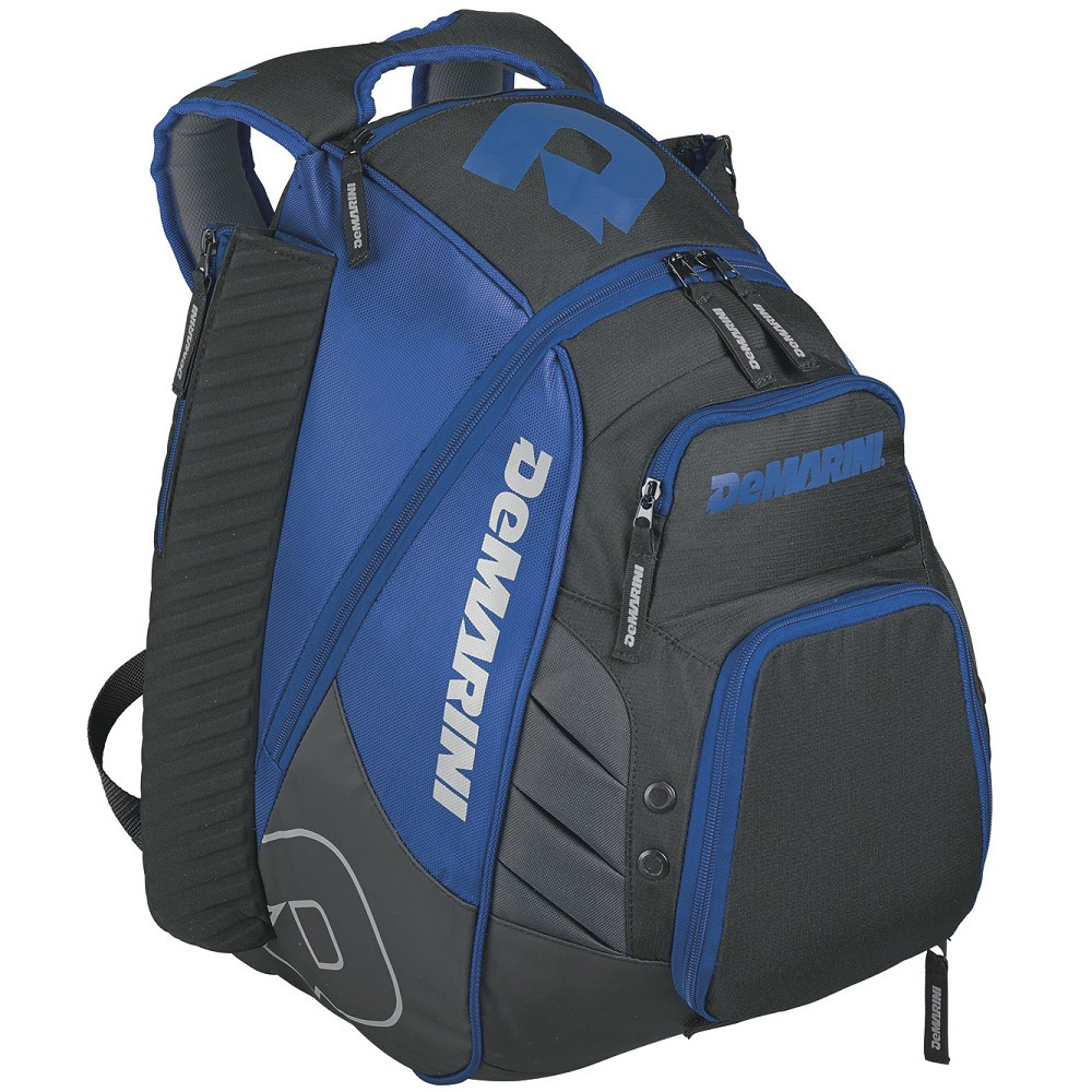 DeMarini Voodoo Rebirth Baseball Backpack-Royal Blue