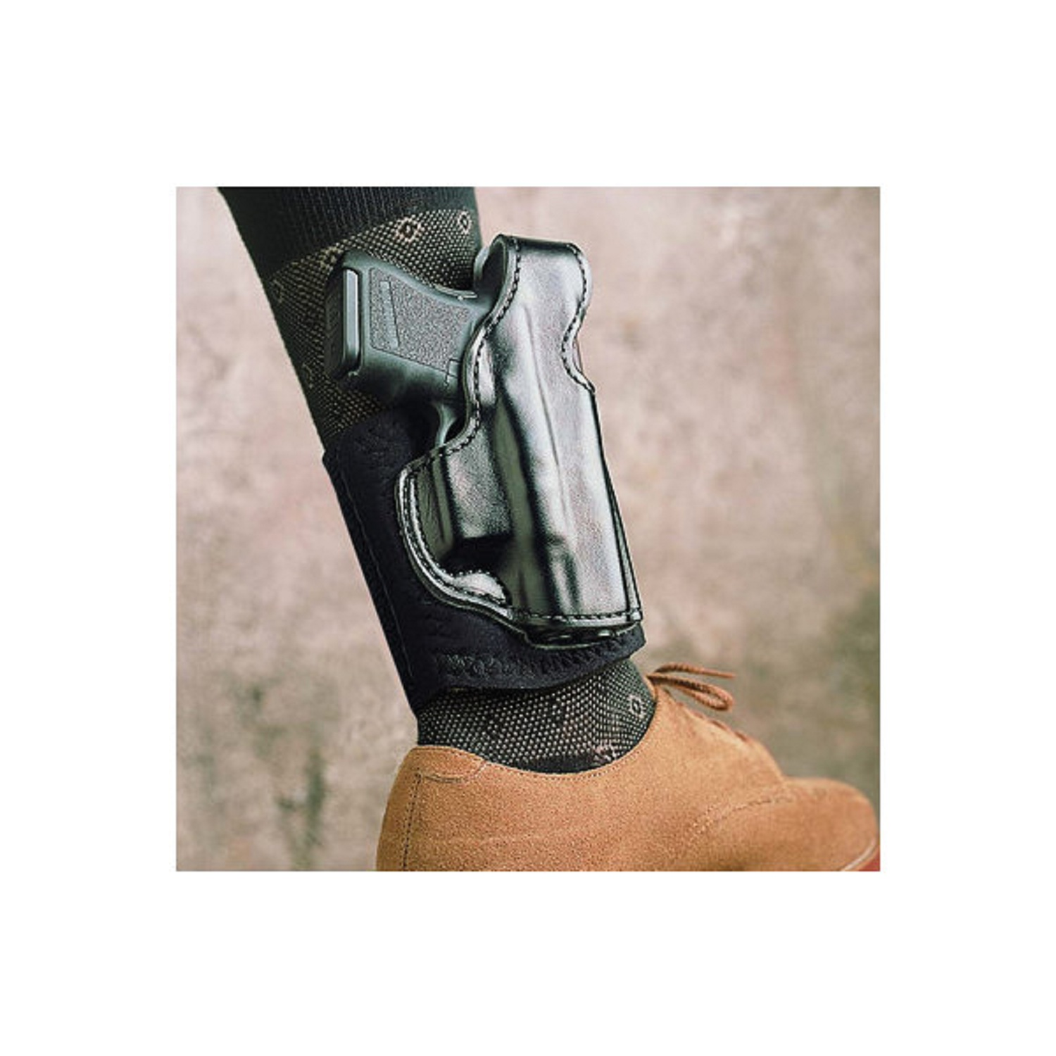 DeSantis Die Hard Ankle Rig for Glock 43- Black Right Hand
