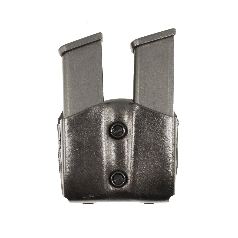 DeSantis Double Magazine Pouch for 10mm/45 Caliber Gun-Black