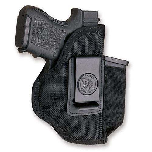 DeSantis Ambi Blk Pro Stealth Holster-Glock Sig Ruger Wather