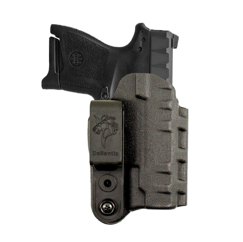 DeSantis Slim Tuck Kydex Holster RH Glock 43 TLR 6